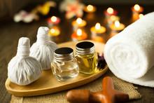 Selective Focus Herbal Compres...