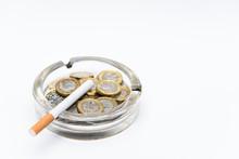 Cigarette And British Pound Co...