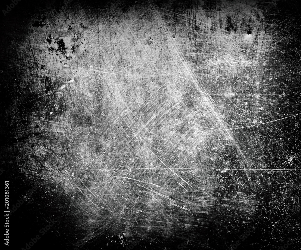 Fototapety, obrazy: background of metallic grungy and scratched surface