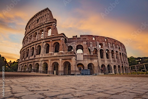 Photo  Rome Colosseum