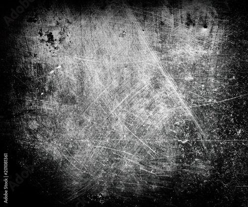 Obraz background of metallic grungy and scratched surface - fototapety do salonu