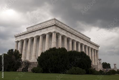 Fotografia  Lincoln Memorial in stormy weather, Washington DC.