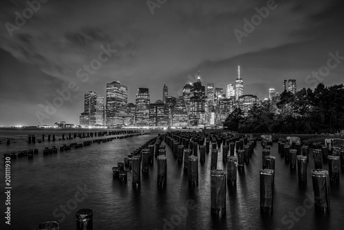 Foto op Aluminium New York View of Manhattan in New York City