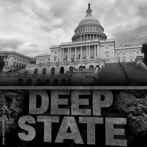 Fotografie, Obraz  Deep State