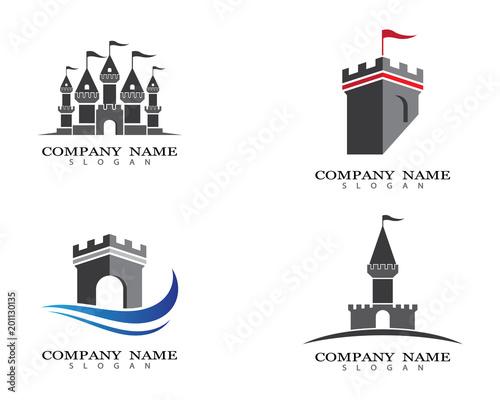 Fotografia Castle vector icon