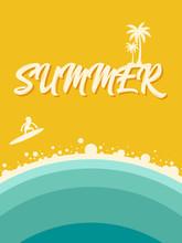 Summer On The Beach Abstract V...