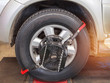 Car wheel alignment maintenance for balance at service station center