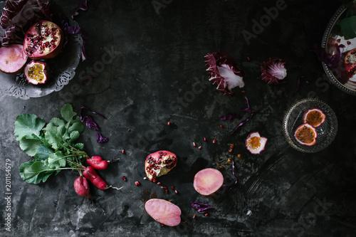 Tuinposter Bloemen Winter Fruits