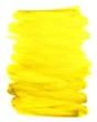 canvas print picture - Unordentlich gemalte Farbfläche gelb