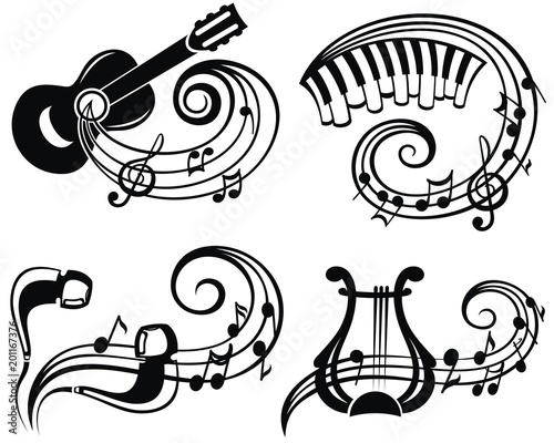 Music Symbol Vector Illustration For Your Design Buy This Stock