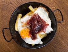 Fried Eggs With Jabugo Ham
