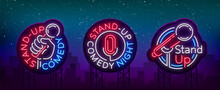 Stand Up Comedy Show Is A Coll...