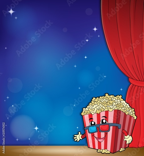 For Kids Stylized popcorn theme image 4