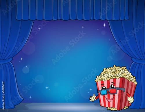 For Kids Stylized popcorn theme image 5