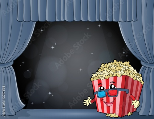 For Kids Stylized popcorn theme image 7