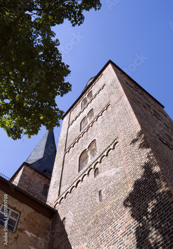 Poster Artistique Altenburg / Germany: The so called Red Spires of the former collegiate church of the Virgin Mary