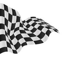 Checkered Flag Background Vector Race Design