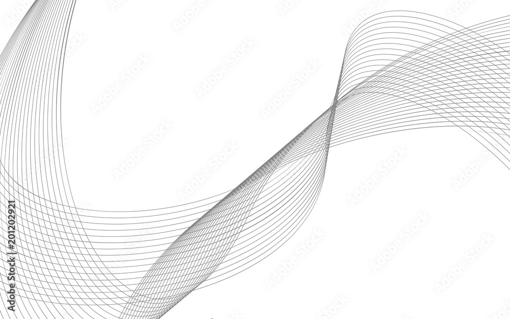 Fototapeta business background lines wave abstract flowing stripe and curves design