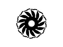 Abstraction Decorative  Wheel ...
