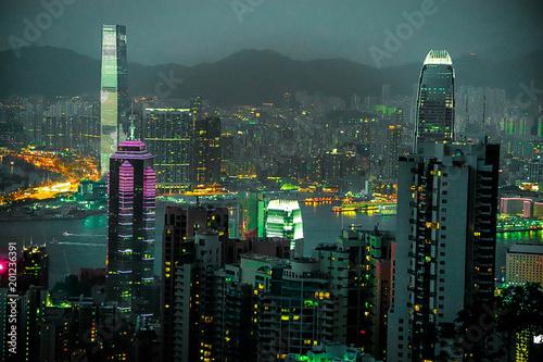 Photo  Victoria Peak, Hong Kong