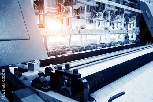 Slika na platnu Textile factory loom