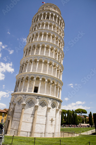 Poster Artistique Leaning Tower of Pisa - Pisa - Tuscany - Italy