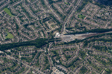 Orpington Railway Station, Aerial View