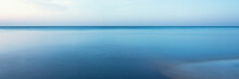 Horizontal Line Of Calm Sea On The Day Light
