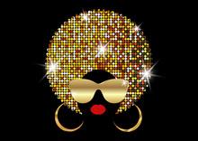 Portrait African Women , Dark ...