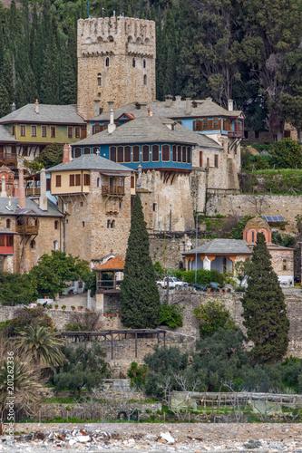 Photo Docheiariou (Dochiariou) monastery at Mount Athos in Autonomous Monastic State o
