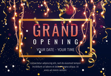Grand Opening Invitation Conce...