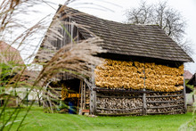 Typical Old Barn (Double Hayra...