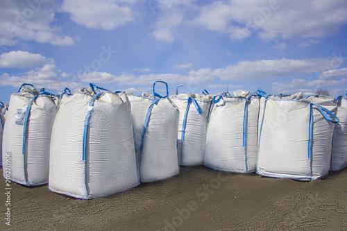 Fotografie, Obraz  open warehouse of big bags