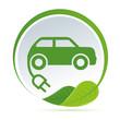 Simbolo automobile elettrica