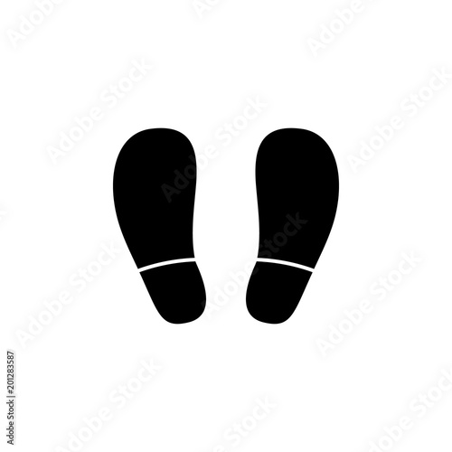 Footprints Icon Element Of Minimalistic Icon For Mobile Concept And