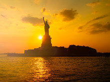 The Statue Of Liberty In New Y...