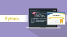 Python Programming Language Ce...