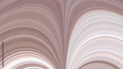 Fototapety, obrazy: Abstraction of pink and white curves