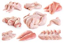 Fresh Raw Chicken And Chicken ...