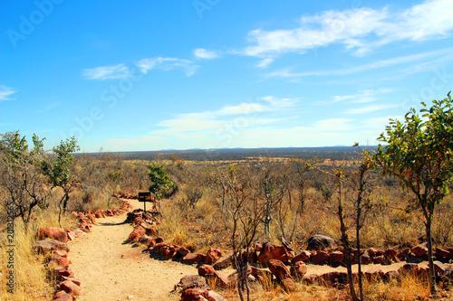 In de dag Afrika Faszinierende Landschaft in den Weiten von Afrika