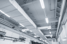 White Industrial Air Duct From...
