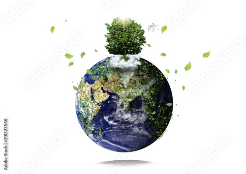 Environment issues Canvas Print