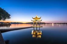 Landscape Of West Lake In Hang...