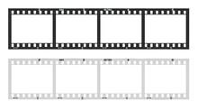 Film Strip With Frames, Empty ...