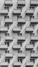A Building With Identical Balc...