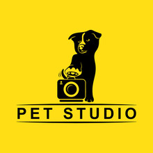 Pet Studio, Silhouette Logo
