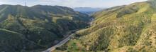 Sierra Highway Runs North To S...