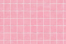 Pink Tile Wall Texture Backgro...