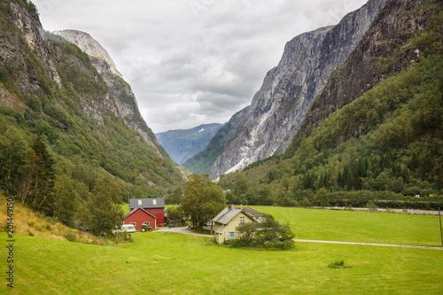 Papiers peints Scandinavie Landscape in Norway