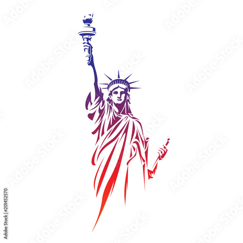 Fotografie, Obraz  Statue of Liberty 2018